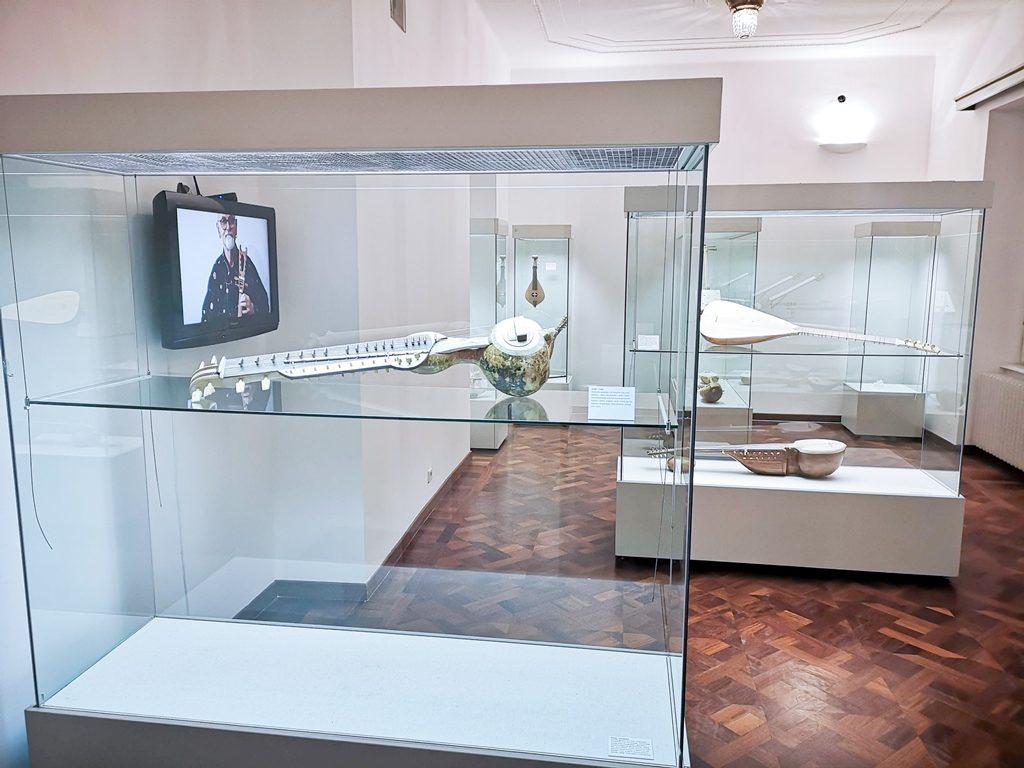 postav izložbe u Arheološkom muzeju